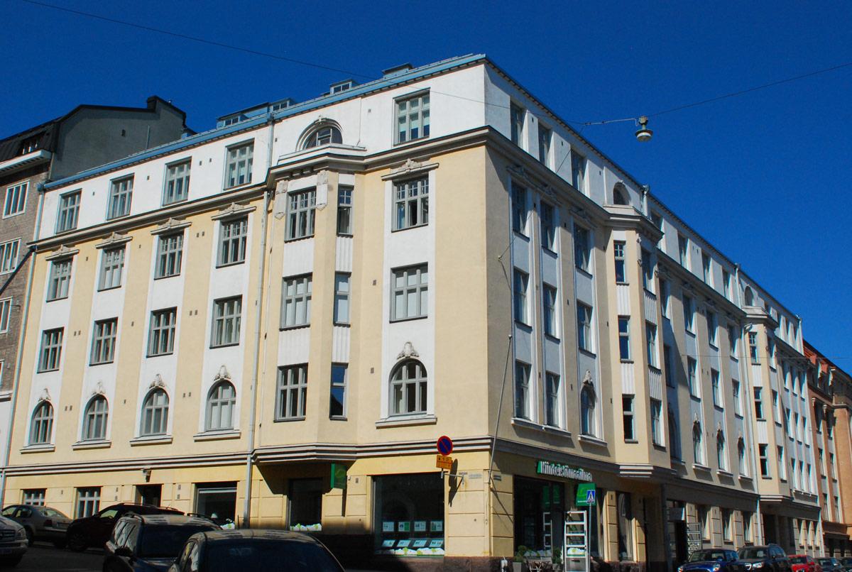 Korjausrakentamisen referenssi: Asunto Oy Aurorankatu 15, linjasaneeraus